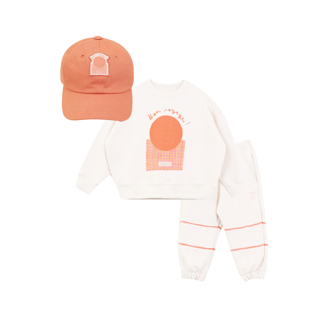 MERCIU X SAKI Kids cap set (프리오더 8월10일까지)