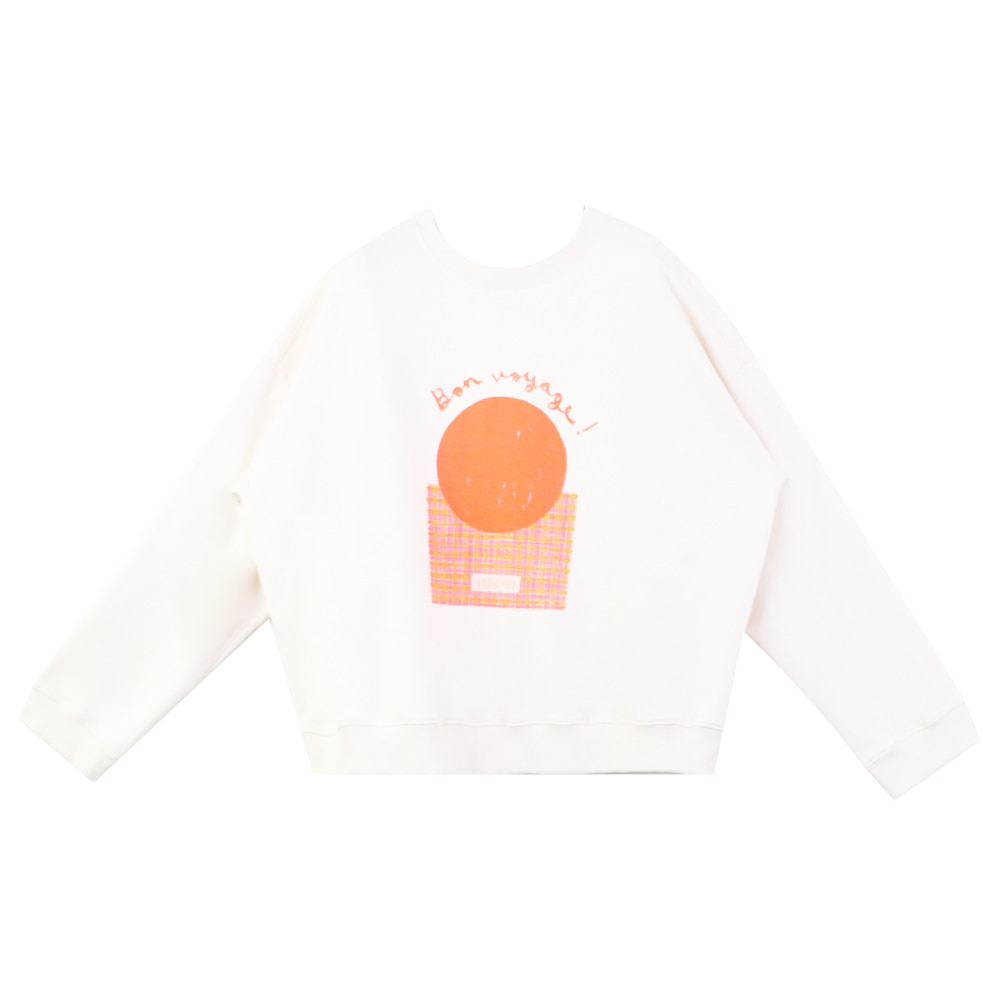 MERCIU X SAKI Sweatshirt - adult (프리오더 8월10일까지)